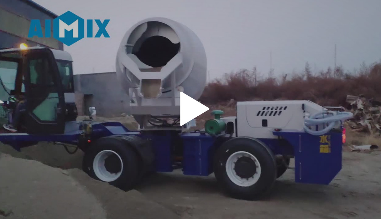 AS-2.6 Self-loading Mixer Running Function Test