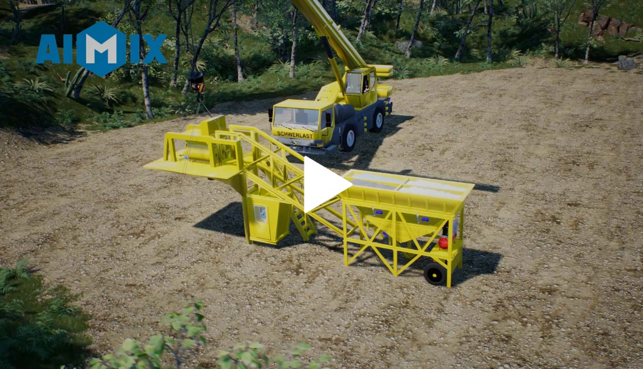 How To Install A Mobile Batching Plant