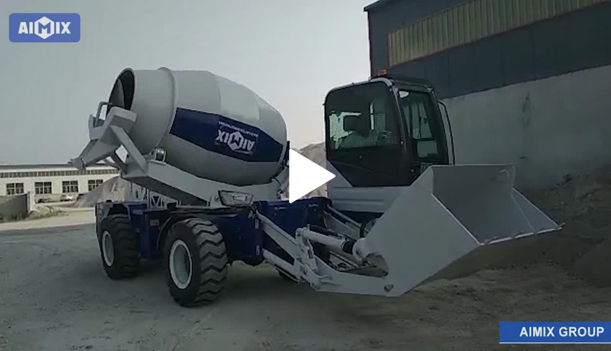 Working Test Video Of The Self-loading Mixer Truck To Djibouti