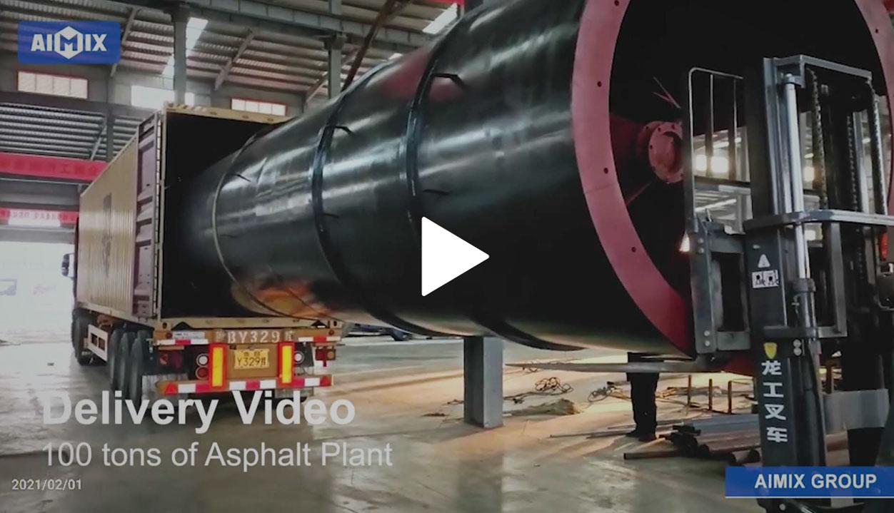 100 Ton Stationary Asphalt Plant Is Delivering To Sri Lanka