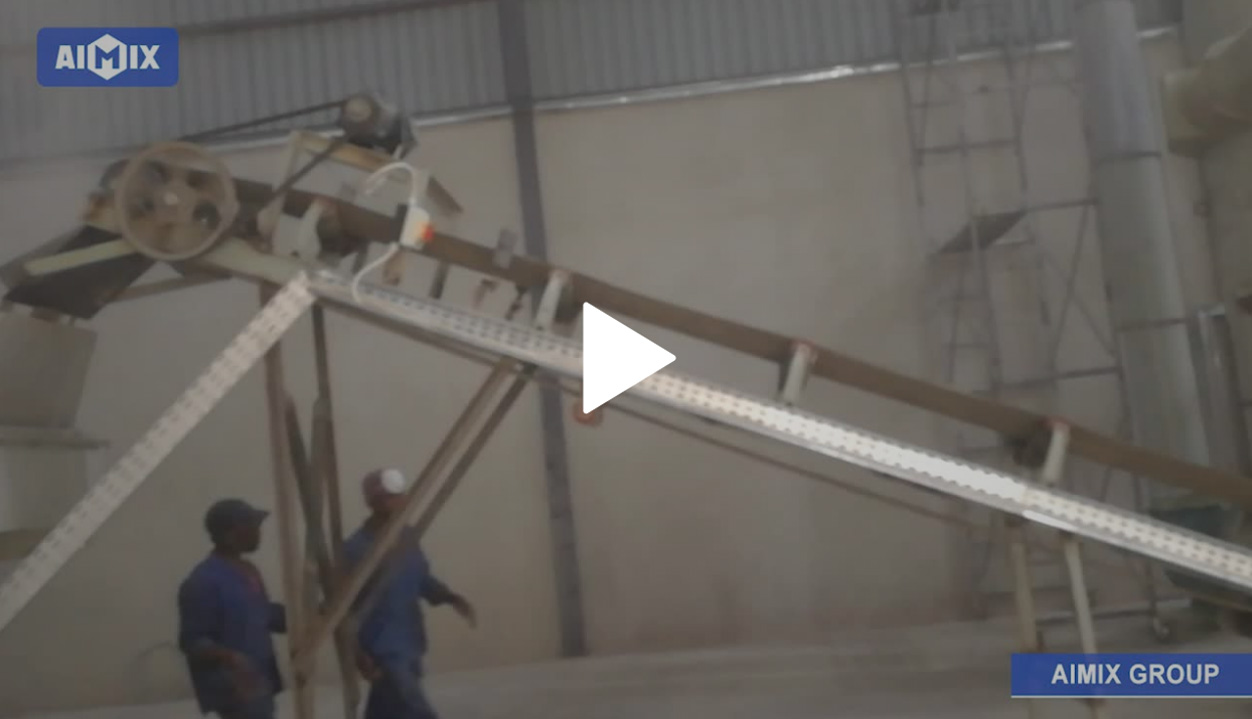20TH Dry Mortar Plant In Zambia